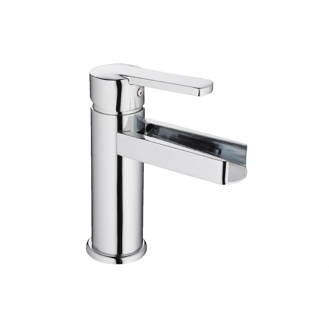 Schütte Design-Waschtischarmatur NIAGARA, Chrom 26110 Badezimmer Armatur