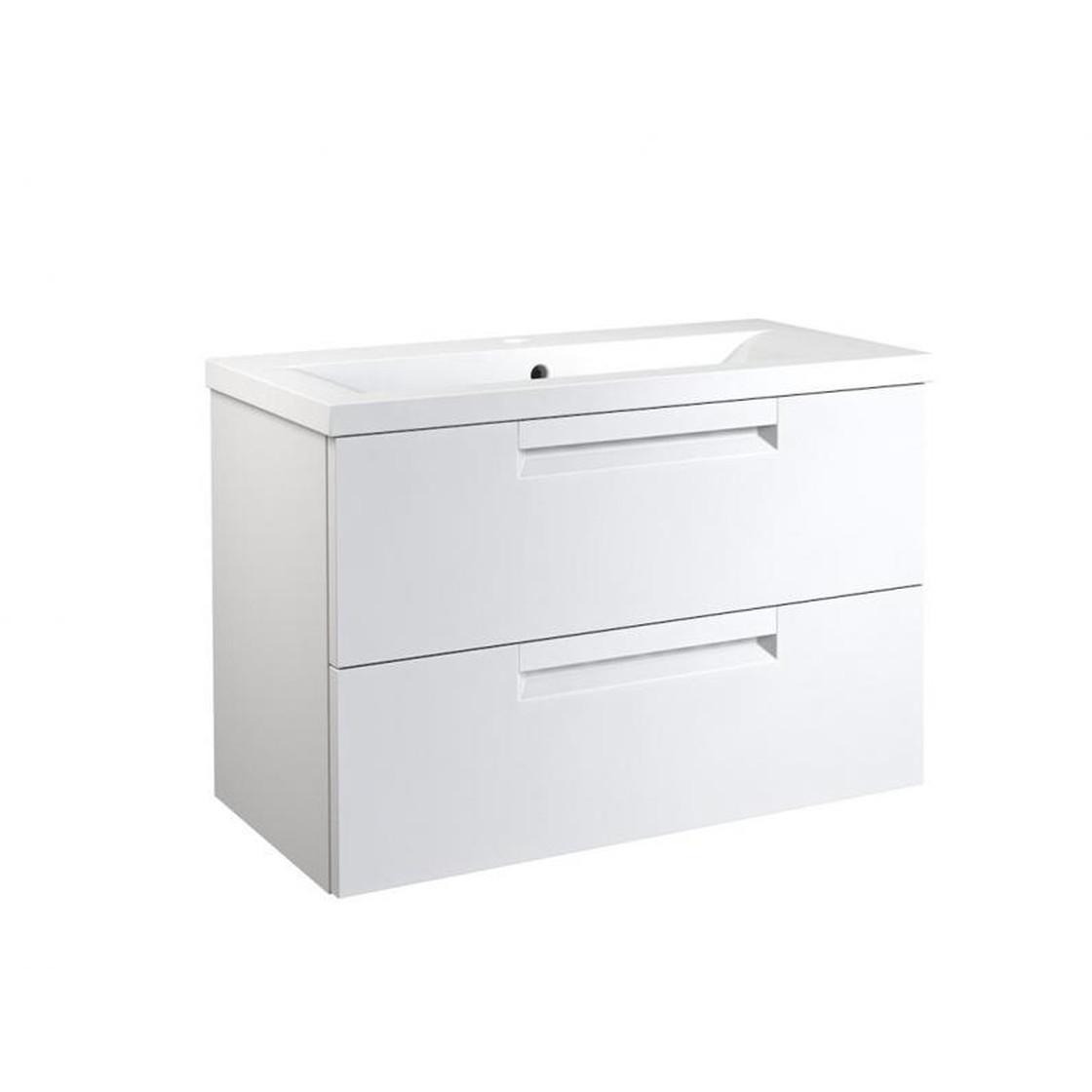 Vidamar Milano Waschtischunterschrank Mit 2 Schubladen Waschtisch
