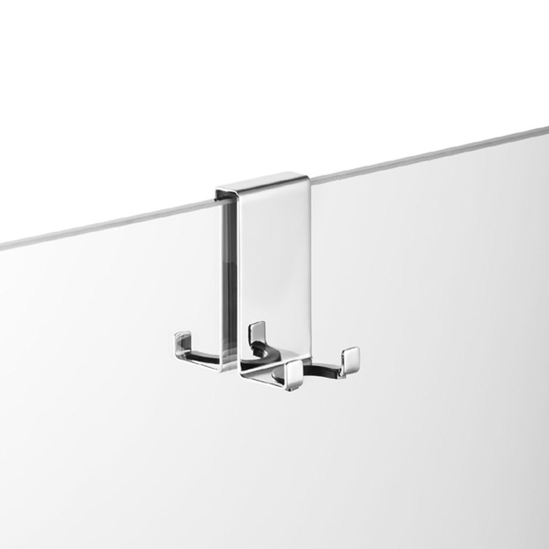 Serie Univ. für 6,8,10 mm AVENARIUS Halter für Duschabtrennung; mit 2 Haken