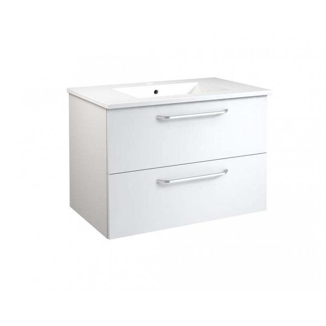 vidamar luna waschtischunterschrank mit 2 schubladen. Black Bedroom Furniture Sets. Home Design Ideas